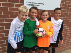 City U12's All Kitted Out
